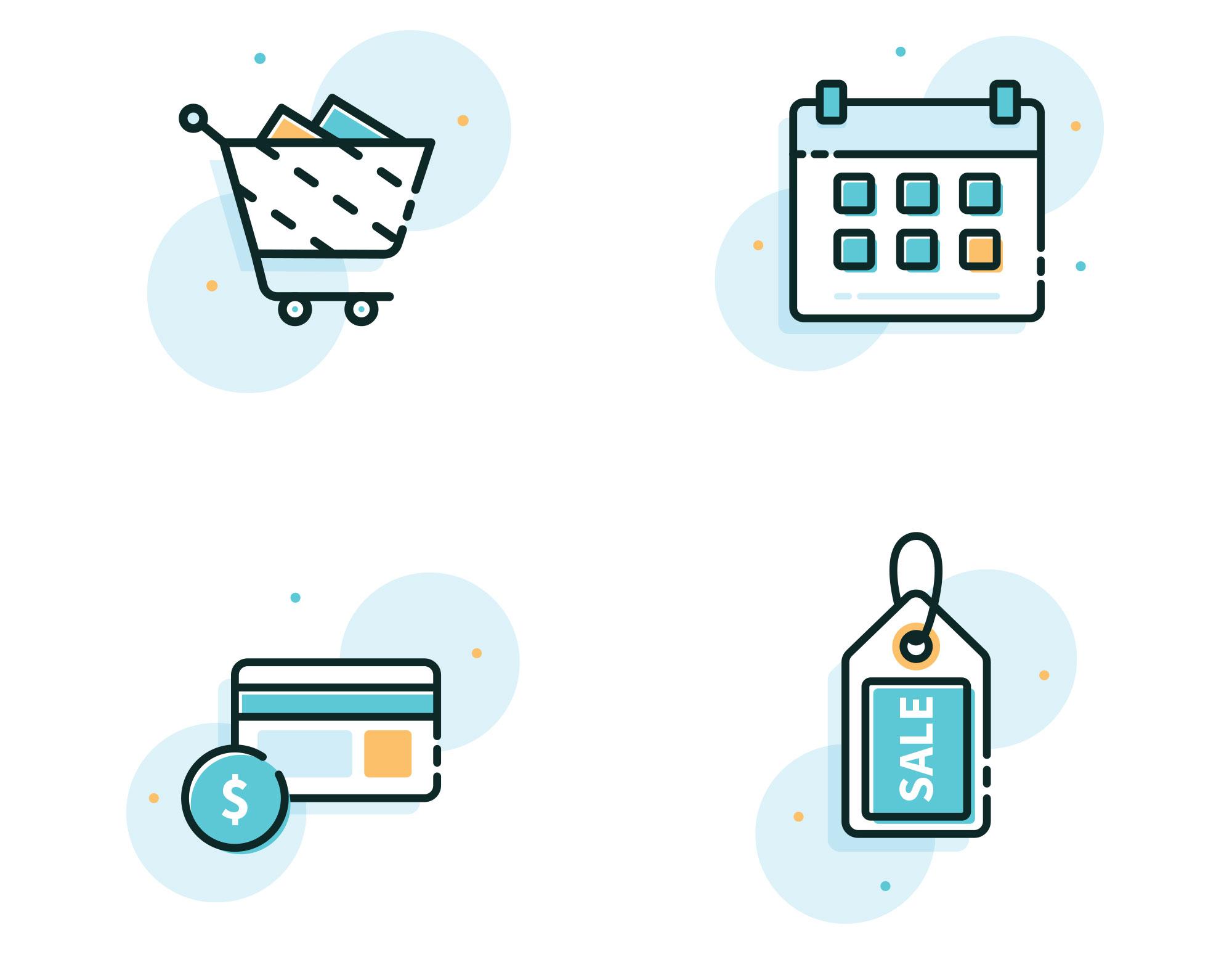E-Com Icons