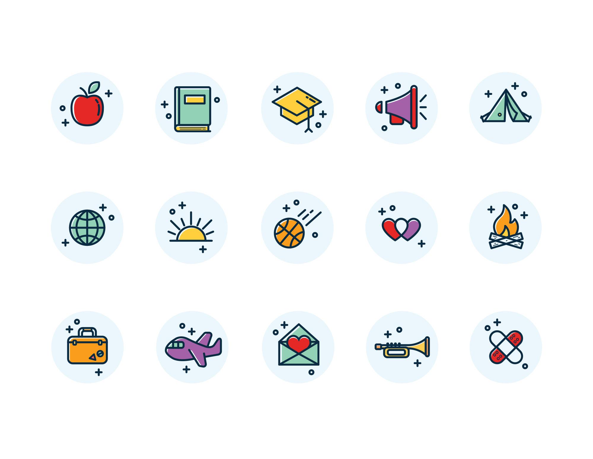 Scentco Fundraising Icons