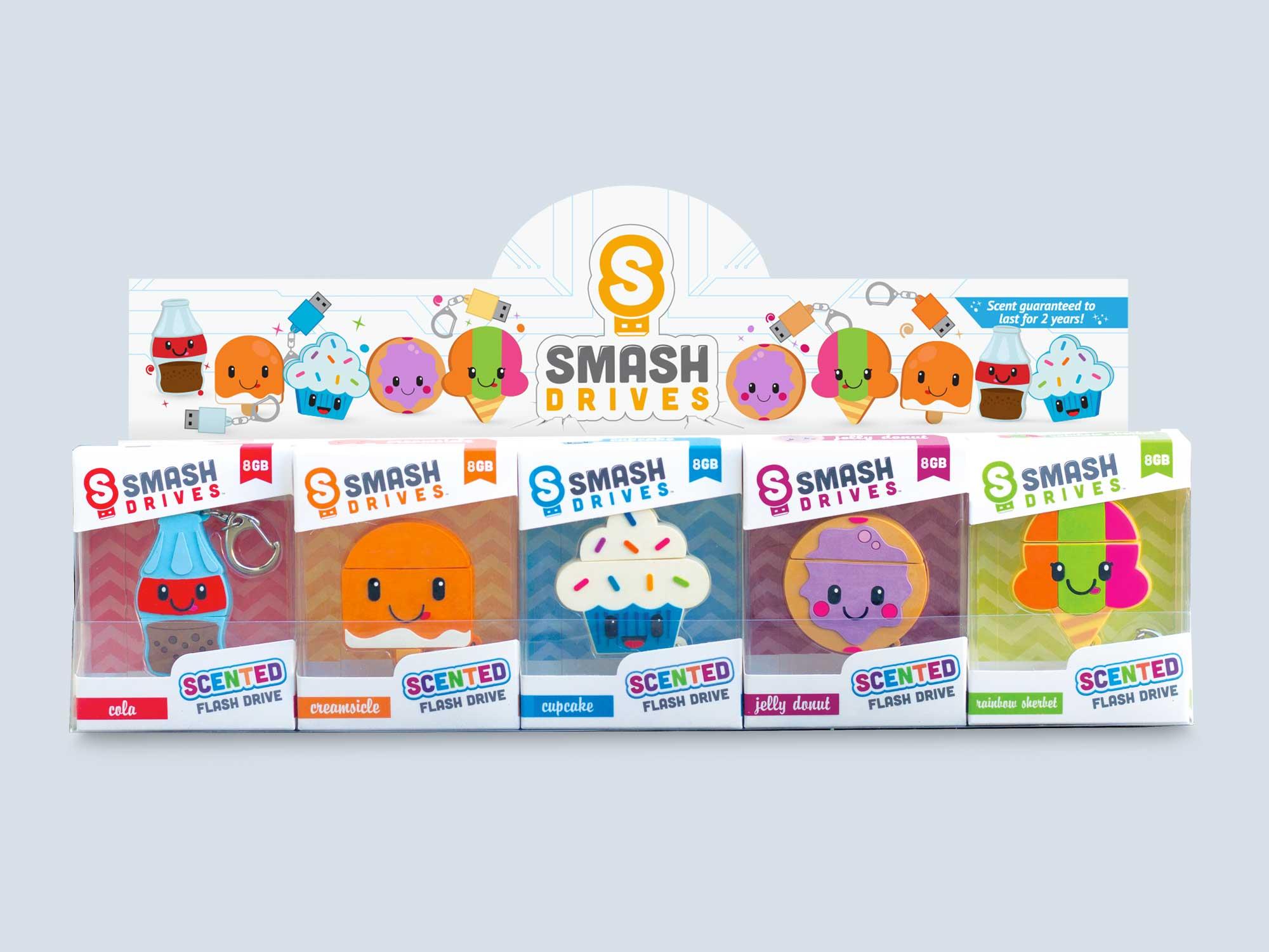 Smash Drives POP Display