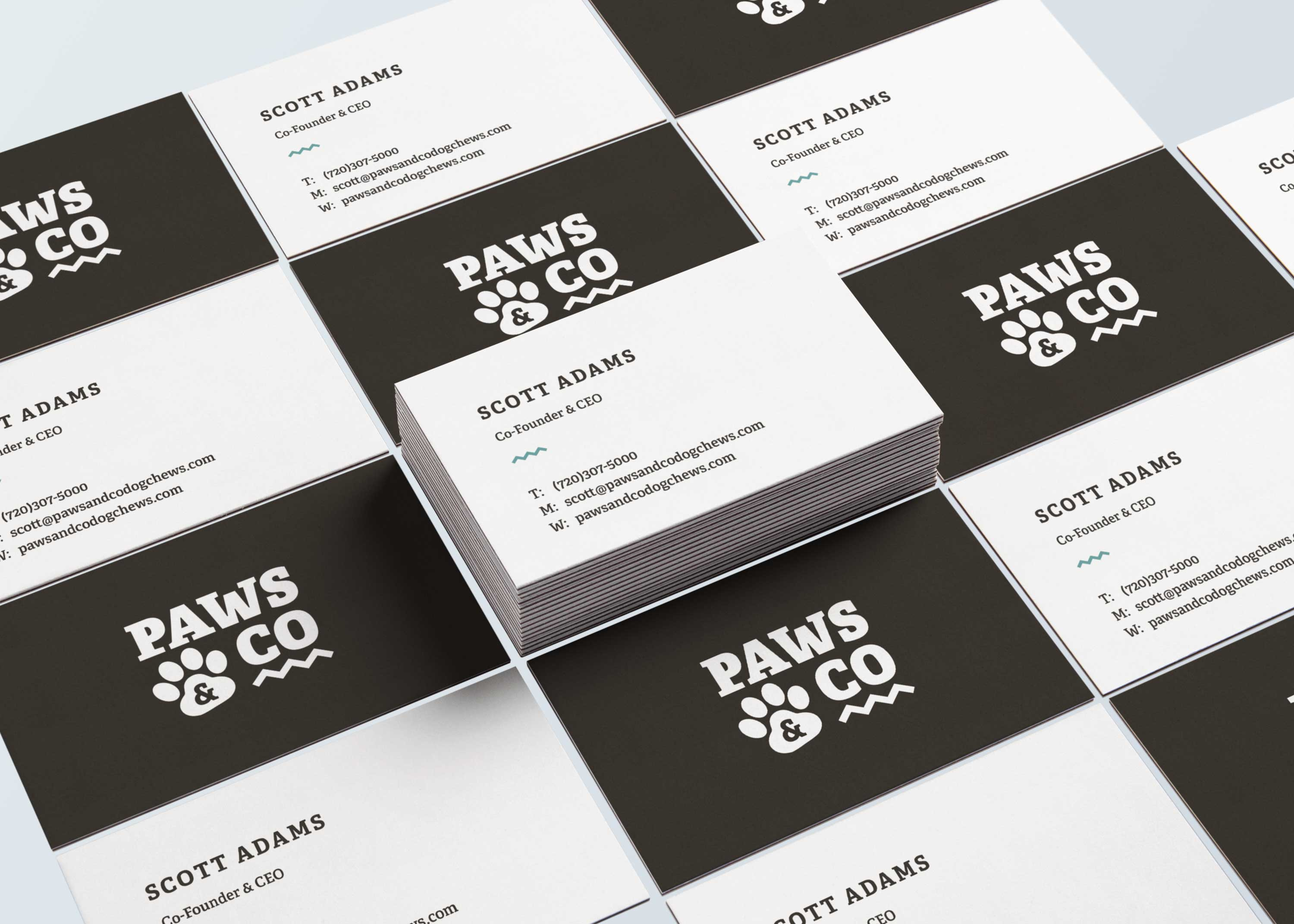 Paws & Co Business Cards