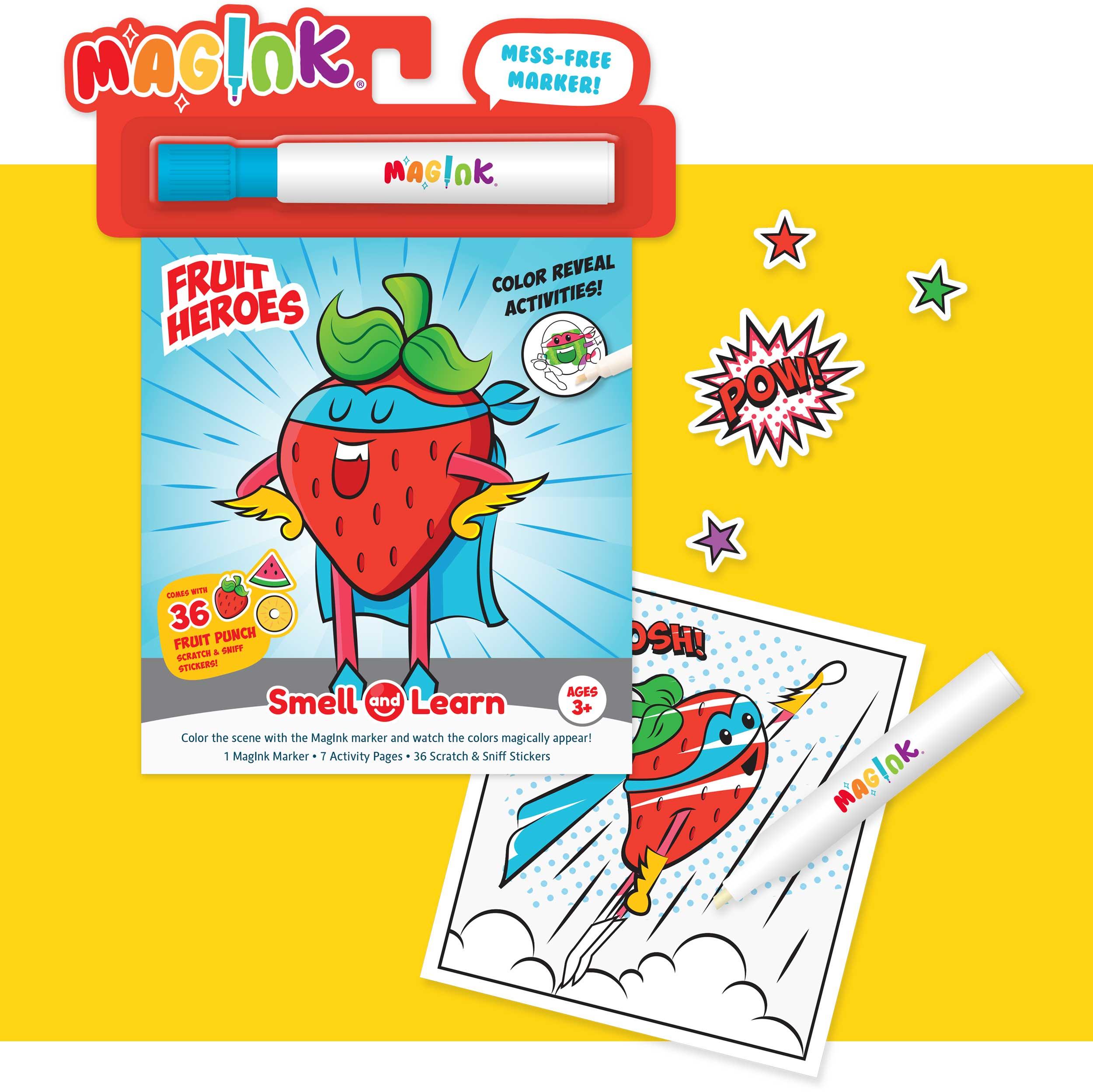 MagInk Fruit Heroes