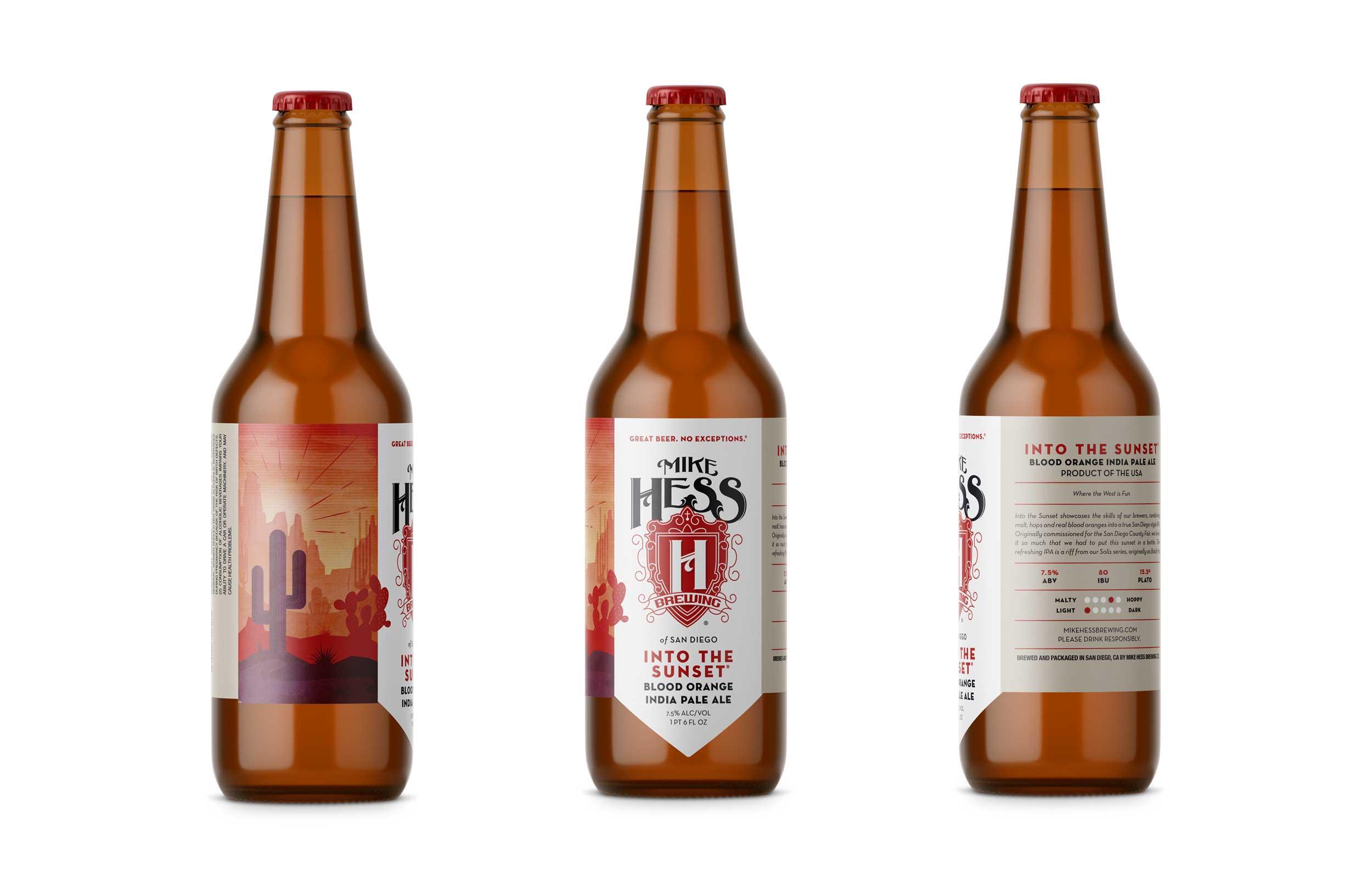 Mike Hess Beer Bottles