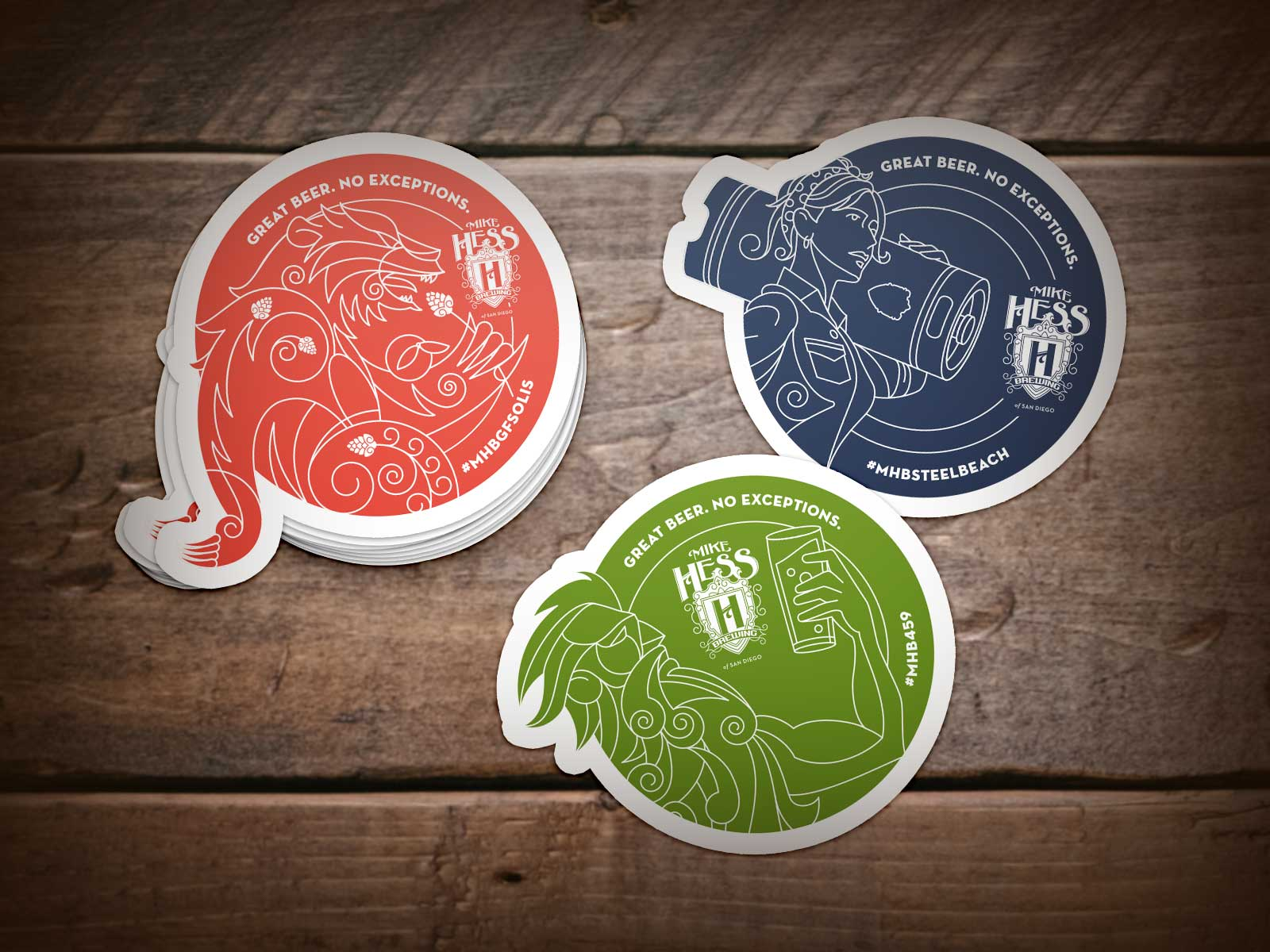 Mike Hess Stickers