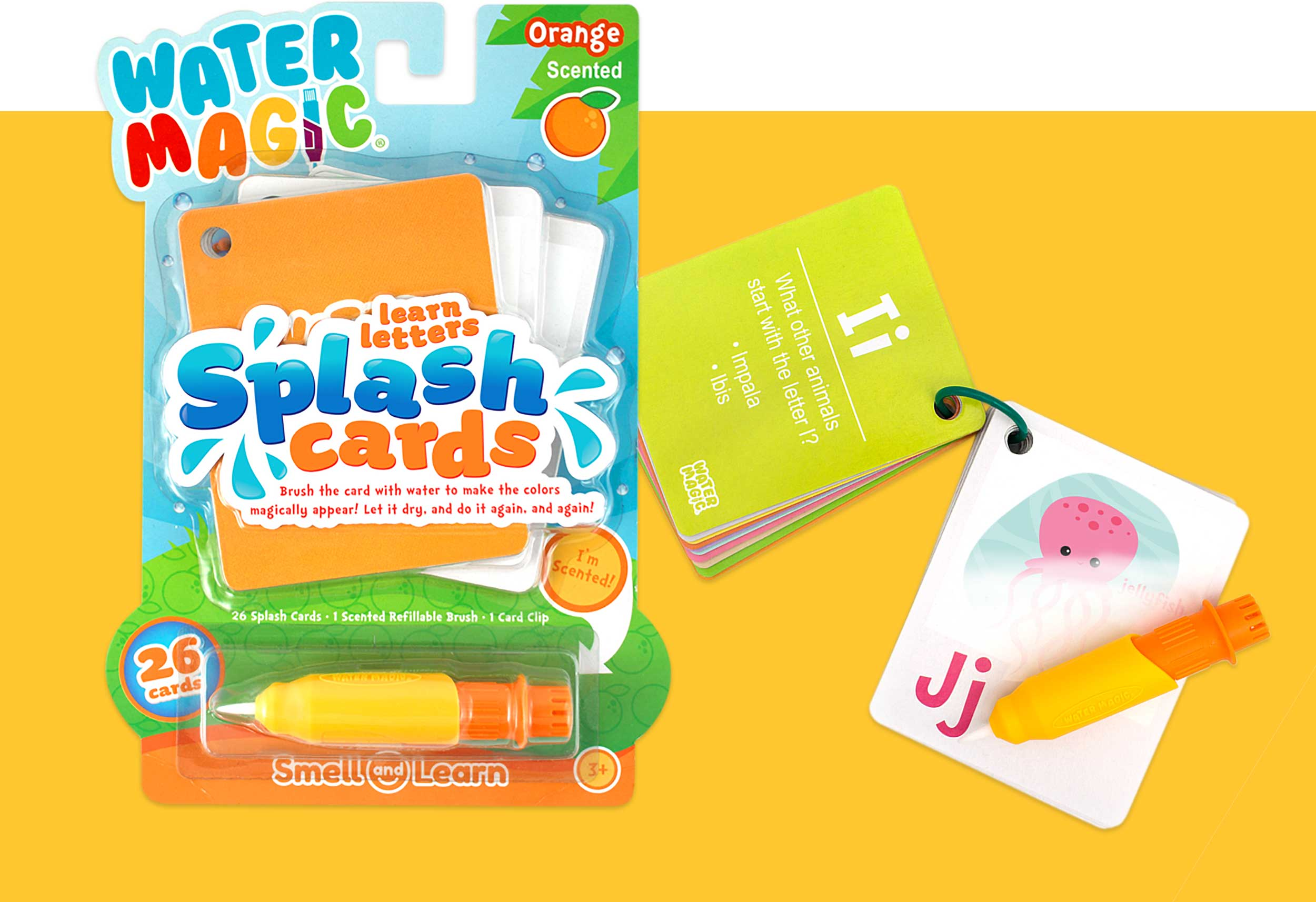 Splash Cards - Learn Letters