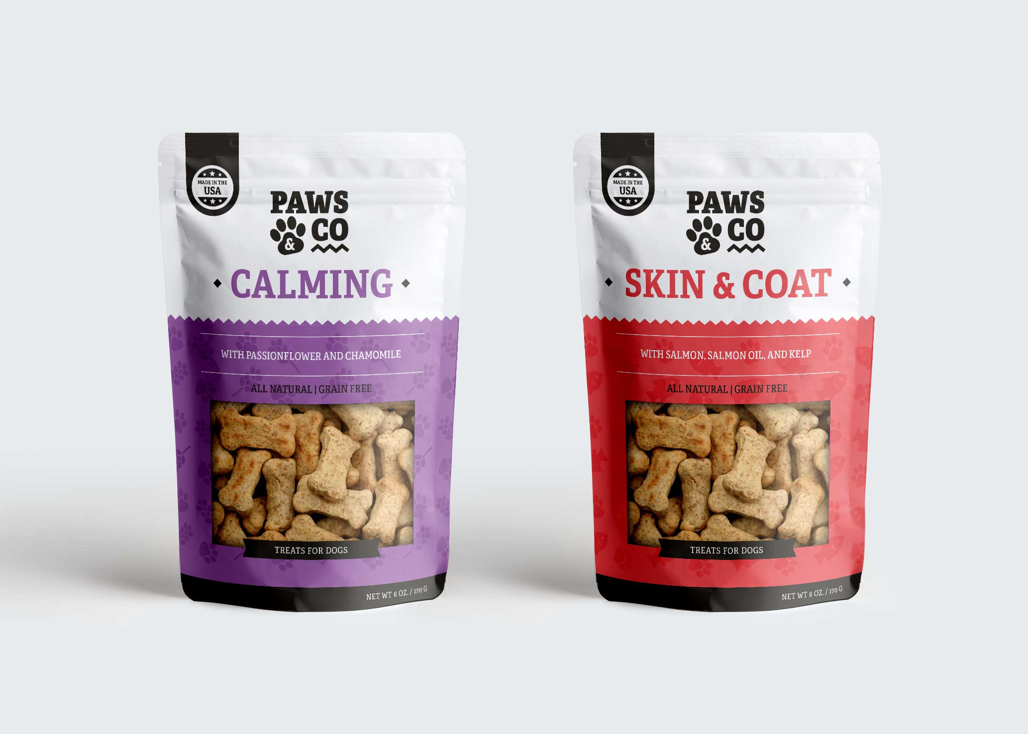 Paws & Co Packaging